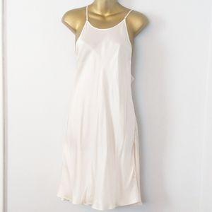 Victoria's secret satin slip dainty dress large